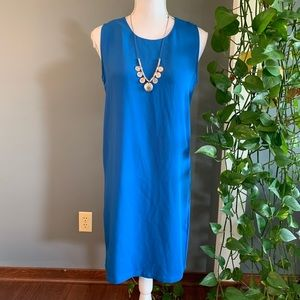 Adrienne Vittadini Blue Sleeveless Dress~Size 4